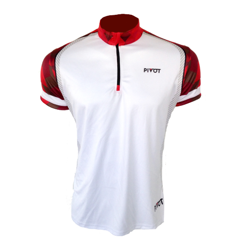 Curling Jersey - Pivot White Front