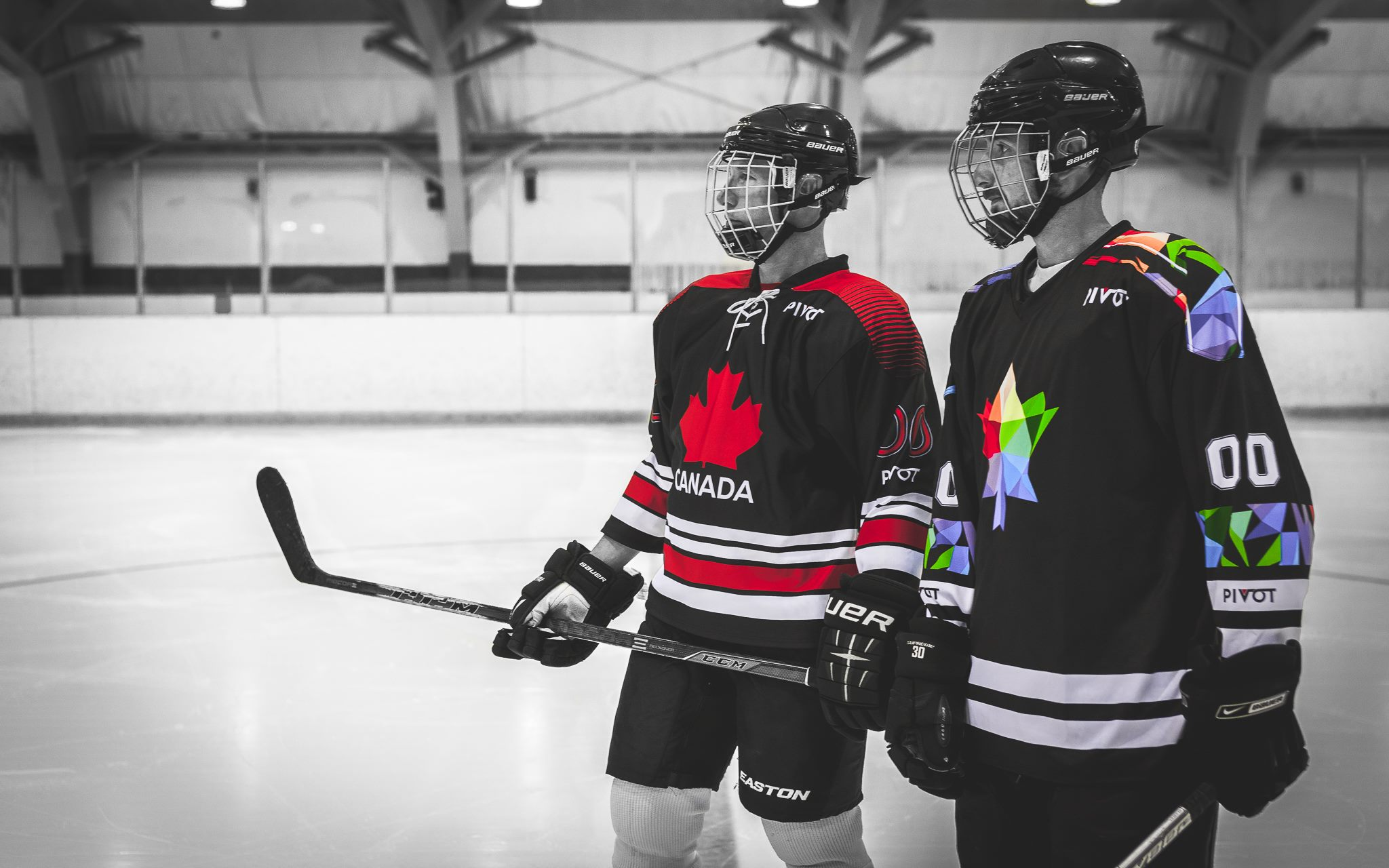 Hockey League Jersey Custom Sublimated Uniforms By Pivot